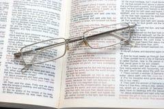 Helig bibel Royaltyfri Fotografi