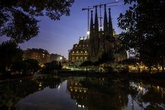 Helig familj i Barcelona, Spanien Royaltyfri Foto
