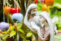 Helig familj och Jesus Fotografering för Bildbyråer