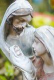 Helig familj och Jesus Royaltyfri Foto