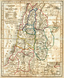 helig gammal landöversikt Royaltyfri Fotografi