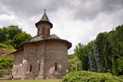 helig klosterprislop romania Royaltyfria Foton
