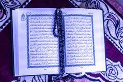helig Koranen Arkivbild