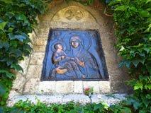 Helig moder av guden royaltyfri bild
