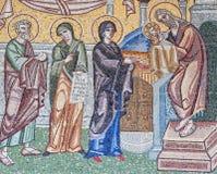 Helig mosaik Arkivbild