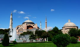 helig moskésophie Royaltyfria Bilder