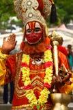 helig nepal sadhu Arkivbilder