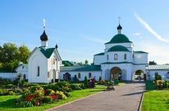 Helig omgestaltningkloster, Murom, Ryssland arkivbild