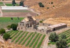 Helig ortodox kyrka av Panagia Sinti på Paphos områdesområde I Royaltyfria Bilder