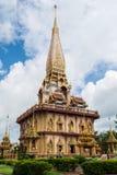 Helig pagod på chalongtemplet fotografering för bildbyråer
