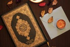 Helig Quranislam arkivbild