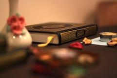 Helig Quranislam royaltyfria bilder