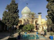 Helig relikskrin för Ali Ebn-e Hamzeh Shiraz Iran royaltyfria bilder
