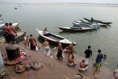 Helig stad i Indien fotografering för bildbyråer