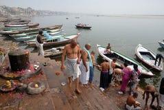 Helig stad i Indien royaltyfri fotografi