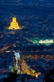 Helig Trinitydomkyrka av Tbilisi Royaltyfri Bild