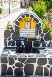 Helig vår i kloster av helgonet Panteleimon i Bulgarien Arkivbild