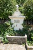 Helig vår i kloster av St Nicholas royaltyfri fotografi