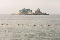 Helig vecka för ö i Montenegro Arkivbild