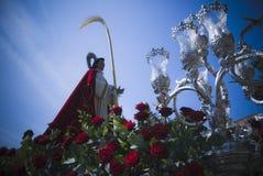Helig vecka för Ferrol _ arkivbilder