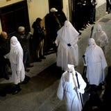 Helig vecka i Sardinia Royaltyfri Fotografi