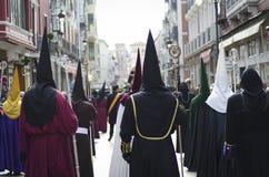 Helig vecka i Spanien. Royaltyfri Foto
