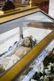 Helig vecka i Spanien, bilder av oskulder och kritiska anmärkningar av Chr royaltyfri fotografi