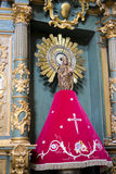 Helig vecka i Spanien, bilder av oskulder och kritiska anmärkningar av Chr arkivbilder