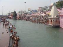 Heliga Ganga fotografering för bildbyråer