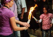 Heliga lördag i Jerusalem Royaltyfri Foto