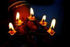 heliga lampor Fotografering för Bildbyråer