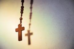 Heliga träChristian Cross arkivbild