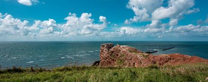 Heligoland Island in the North Sea Stock Photos