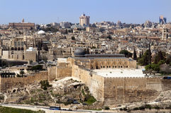 heligt jerusalem land Royaltyfri Fotografi