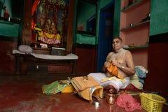 Heligt ställe Mathura Arkivbilder