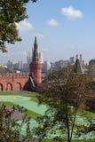 Helihaven in Moskou het Kremlin Stock Fotografie