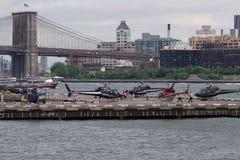 Helihaven van de binnenstad 61 van Manhattan Royalty-vrije Stock Afbeeldingen
