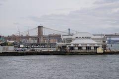 Helihaven van de binnenstad 60 van Manhattan Stock Foto