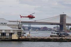 Helihaven van de binnenstad 21 van Manhattan Royalty-vrije Stock Fotografie