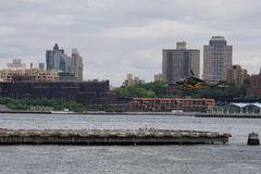 Helihaven van de binnenstad 3 van Manhattan Stock Foto's