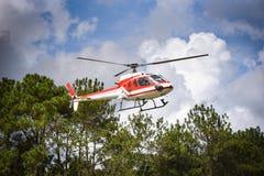 helikopter Royaltyfri Fotografi