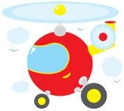 Helikopter vector illustratie