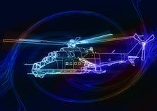 Helikopter Obrazy Stock