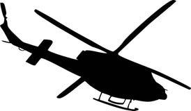 helikopter stock illustrationer