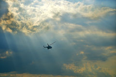 Helikopter royalty-vrije stock afbeelding