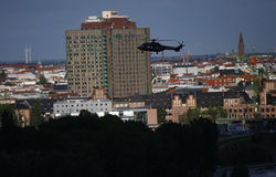 Helikopter, Charite Zdjęcie Stock