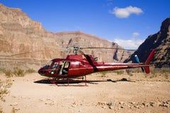 helikopter desert Zdjęcia Royalty Free