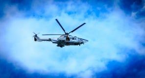 Helikopter EC725 Caracal van de Luchtmacht Royalty-vrije Stock Foto's