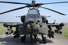 helikopter för 64 ah apache Arkivfoto