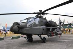 helikopter för 64 ah apache Arkivbild